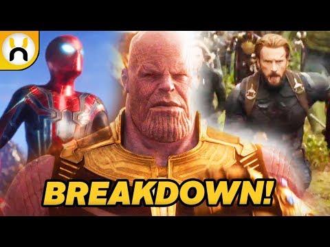 AVENGERS INFINITY WAR Official Trailer (2018) Marvel
