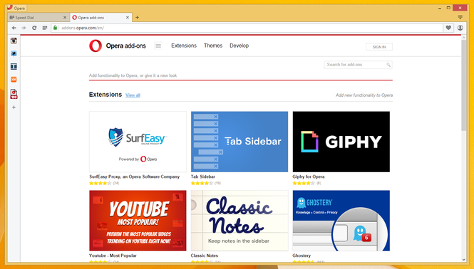 Download Opera Mini for Android - free - latest version