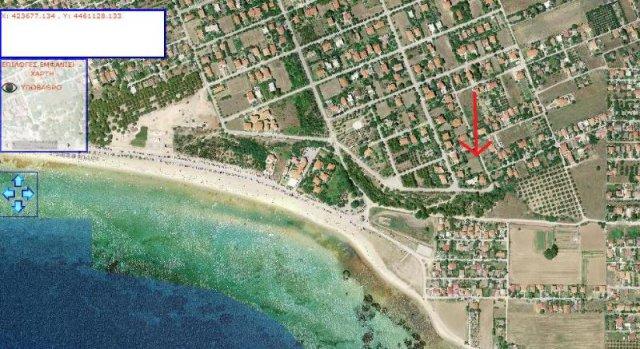 Участок земли в остров Калликратия