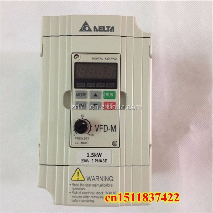 General Sensorless Vector Control Micro Drives VFD-M