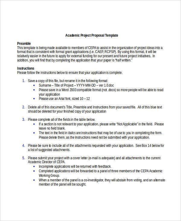 WRITING AN EFFECTIVE RESEARCH PROPOSAL