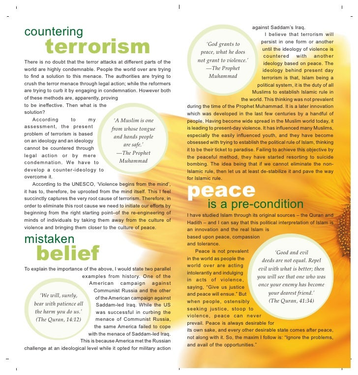 Essay on terrorism in easy words