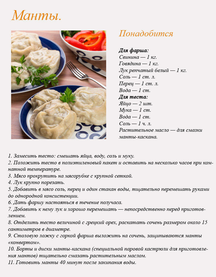 Рецепты быстрых блюд с фотографиями