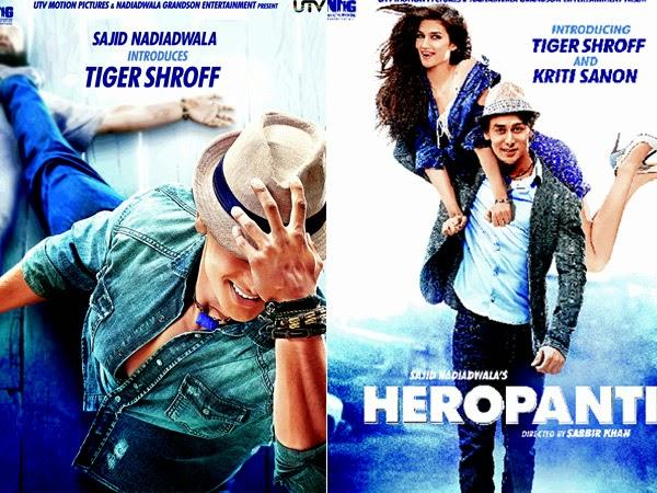 Download Heropanti Full HD Video Songs (MP4)(DVD