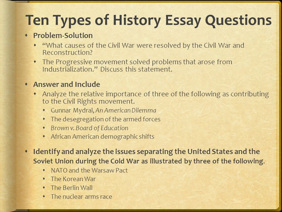 0 History Essay Topics for Middle, High Scholl
