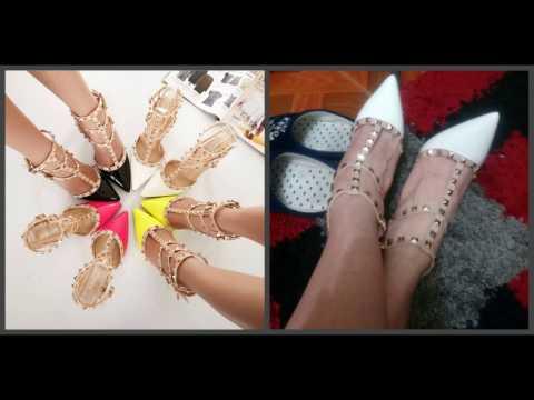 Женская обувь с алиэкспресс видео