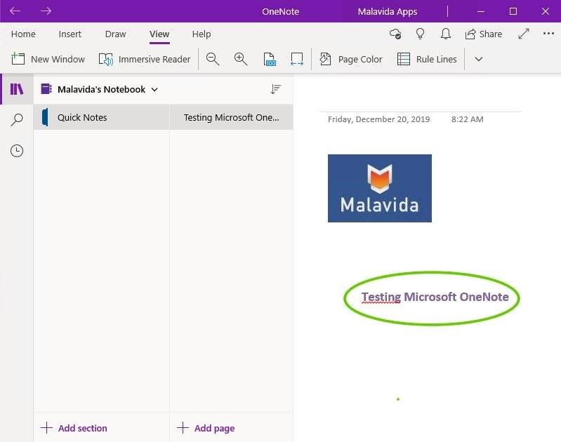Download OneNote notebook from OneDrive without