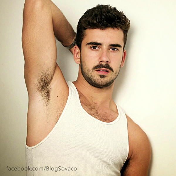 Male photo hairy armpit