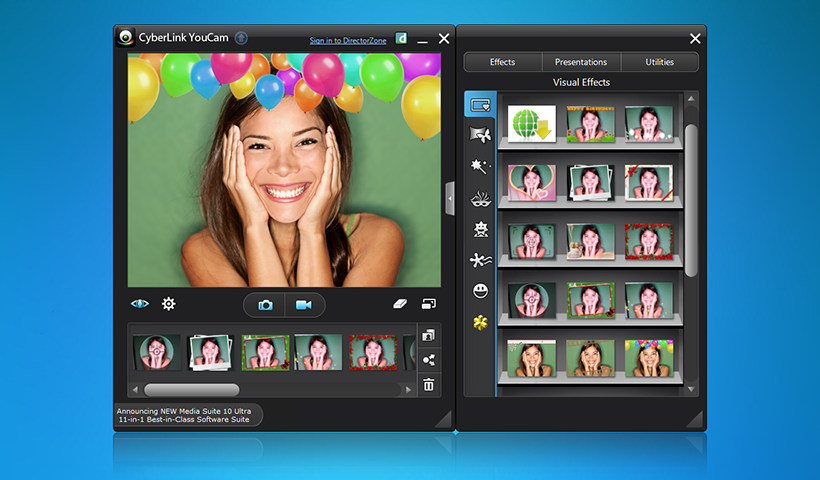 Download free webcam effects software for Windows