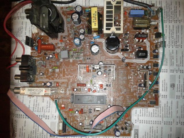 Tcl-21276p service manual