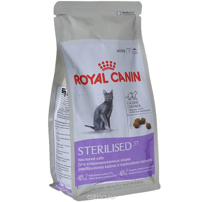 Корм royal canin sterilised young male