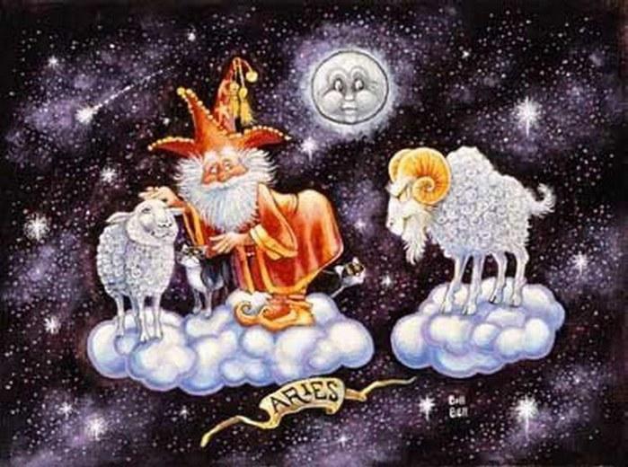 Скачать гороскоп женщи  овен