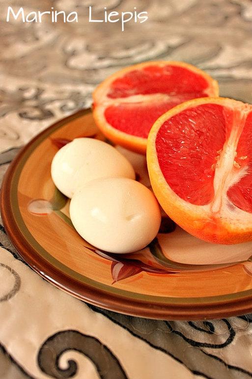 Яично - грейпфрутовая диета: 6 вариантов, меню