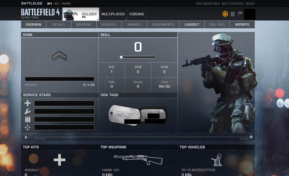 Battlefield 4 service star guide