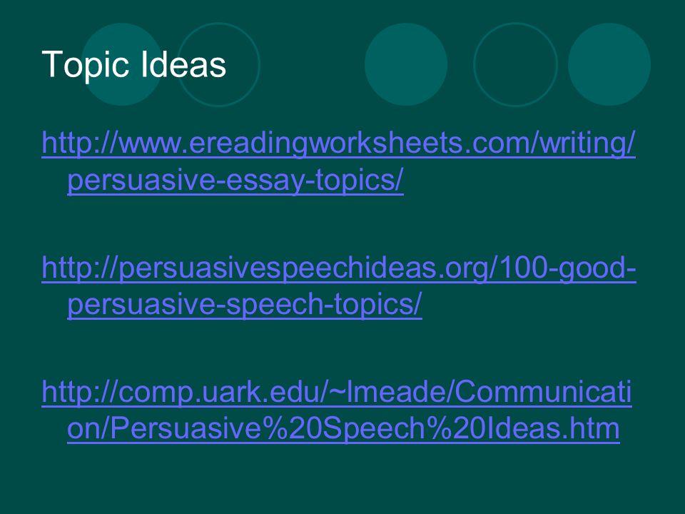Persuasive essays com