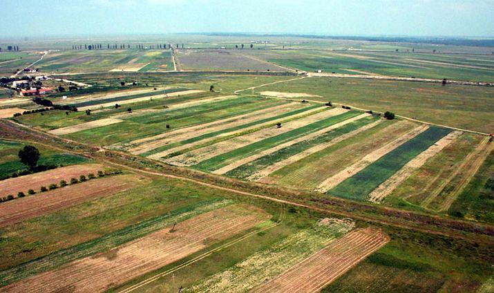 Землю в остров Скирос для сельского хозяйства