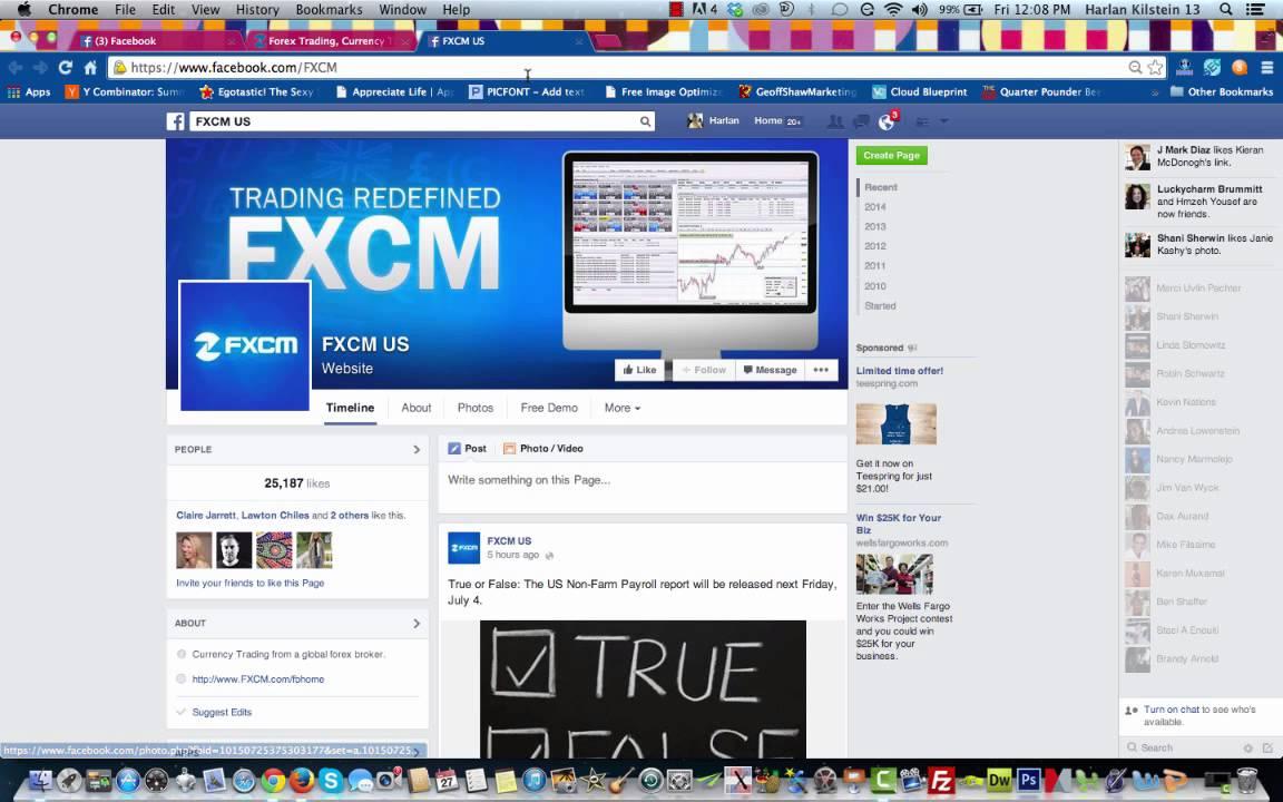 forex in facebook