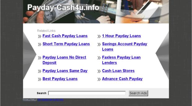 Early payday hemet