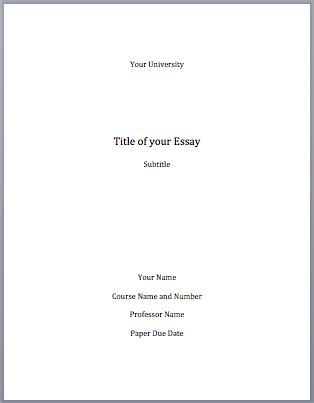 Title Page Examples - ThoughtCo