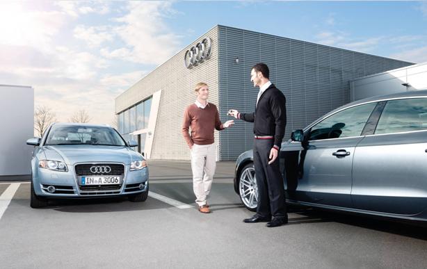 Audi arlington loaner