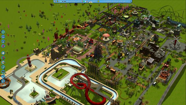 Roller coaster tycoon 3 iPhone game - free Download