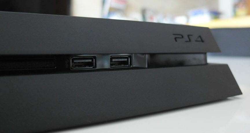 Trying to play movies on the PS4 from a USB drive : PS4