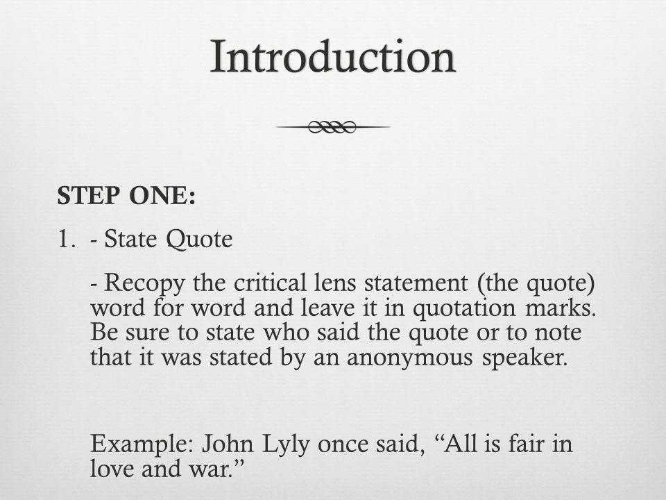 Introduction of love essay (brainlyph homework help)