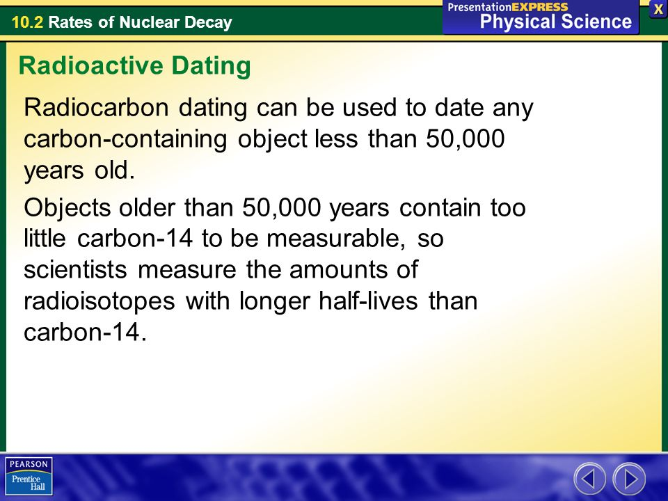 Radiocarbon dating could be used to date which of the following
