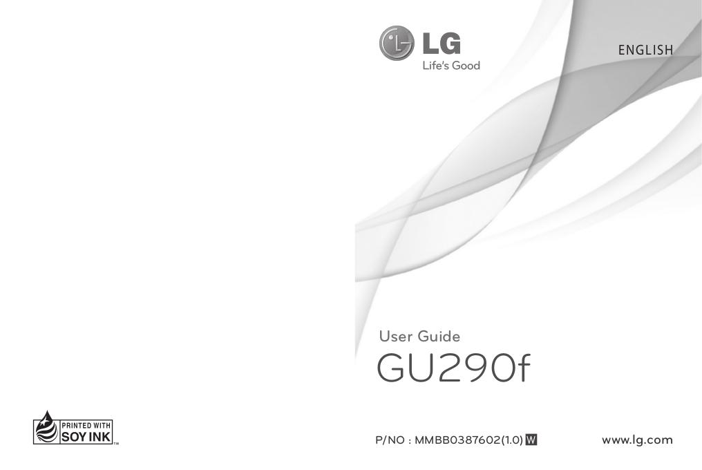 Manuel utilisateur LG 4
