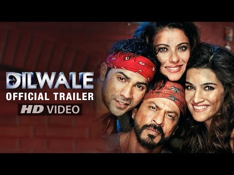 Dilwale 2015 Hindi Movie HD Official Trailer Free Download