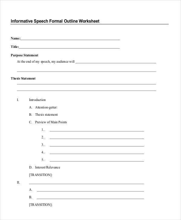 Write my essay outline worksheet