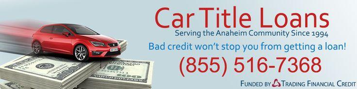 Title loans anaheim ca