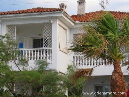 Апартаменты в Пефкохори на берегу моря
