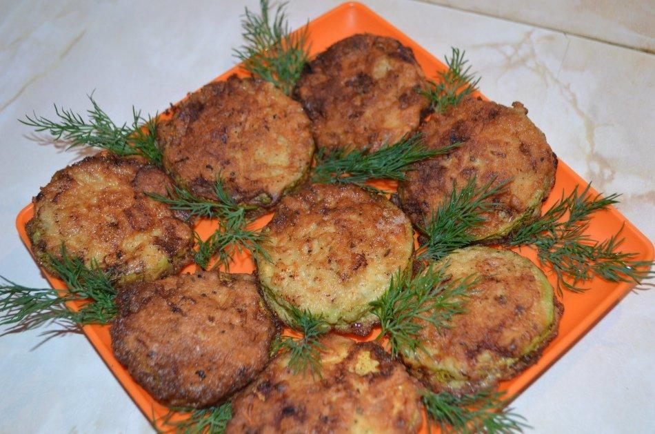 Кабачки с фаршем в кляре рецепты быстро и вкусно