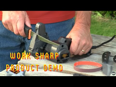 Work sharp instructional video