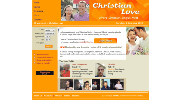 Christian dating sites in uk