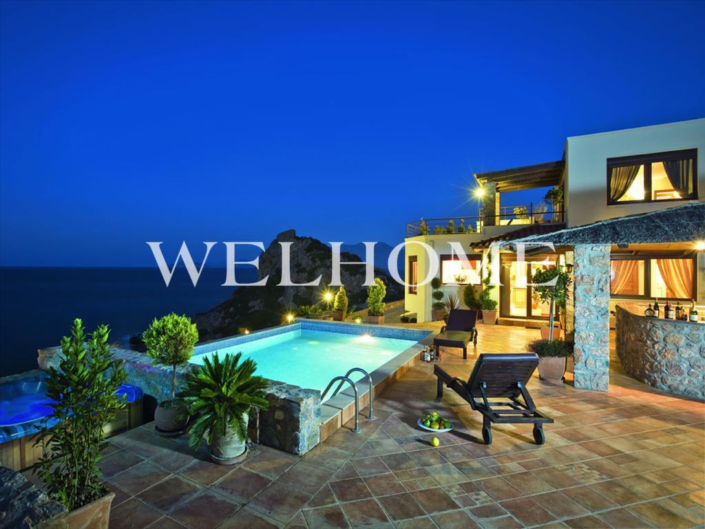 Недорогой дом в остров Санторини с видом на море