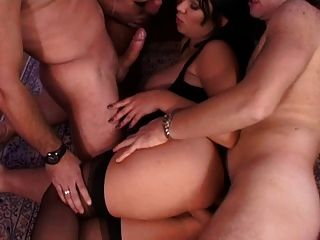 Porn two couples orgy