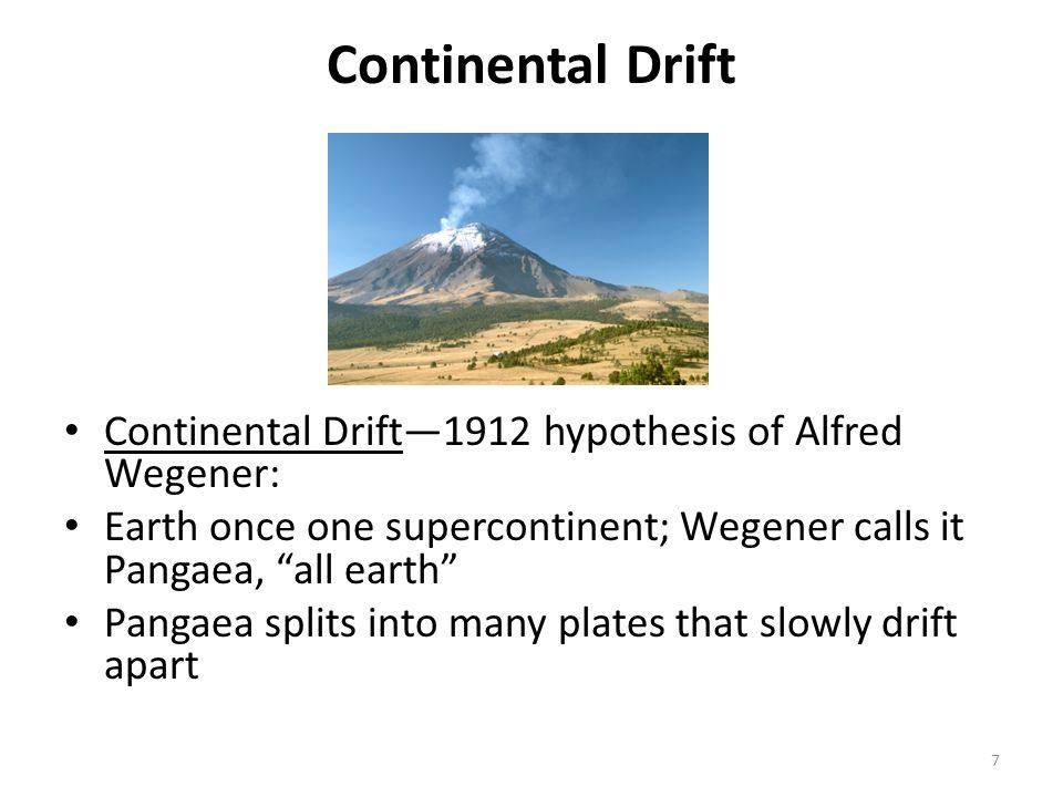 Drift hypothesis