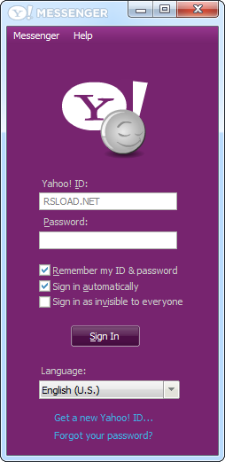 Yahoo! Messenger 1150228 (free) - Download latest