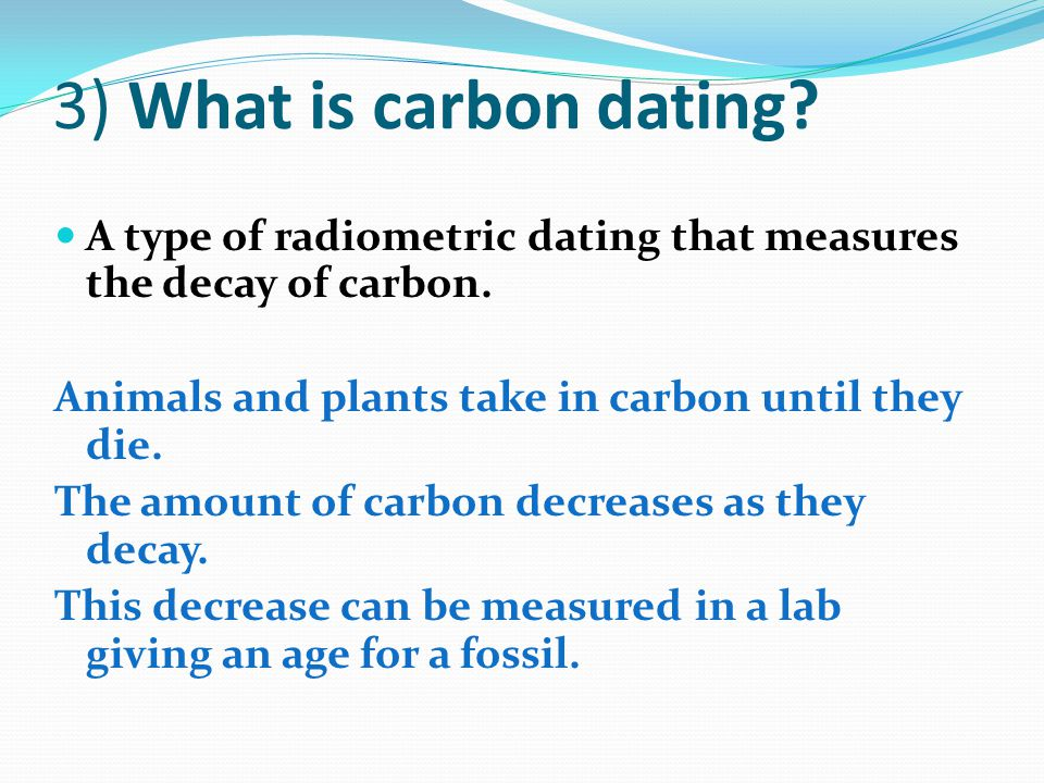 carbon dating plants