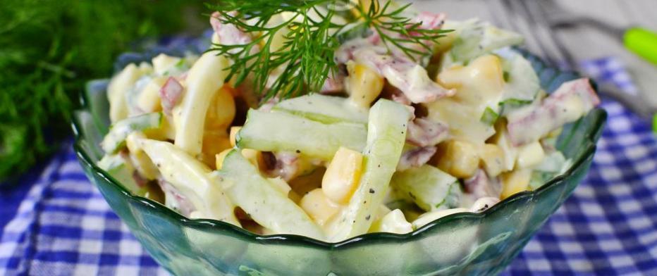 Легкие салаты рецепты на быструю руку