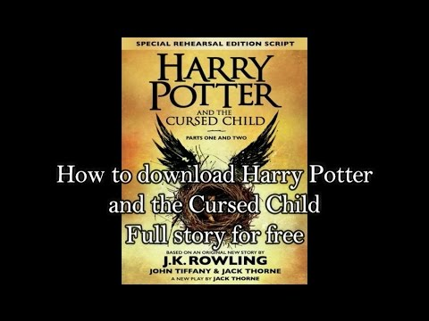 How To Download 'Harry Potter The Cursed Child' As A PDF