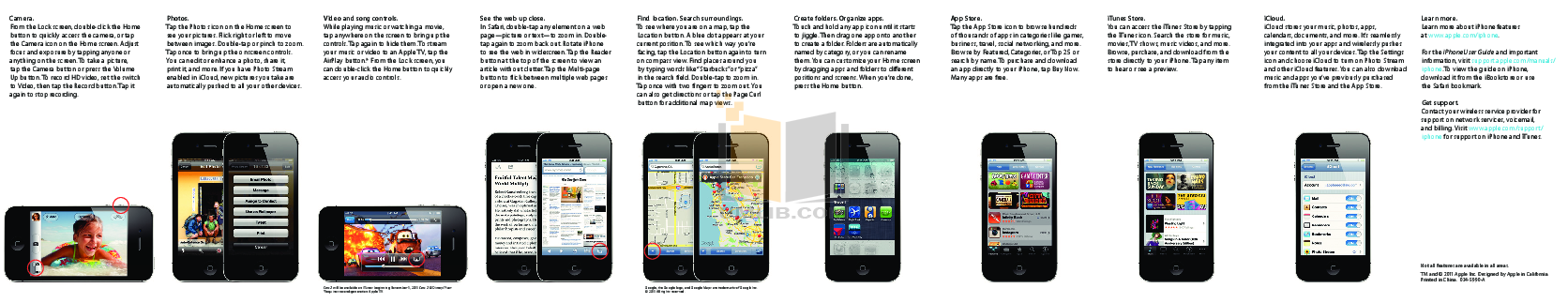 Apple user manual for iphone se