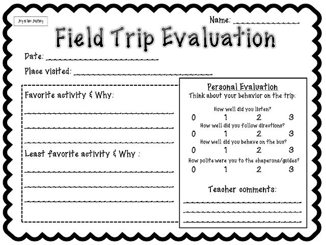 Field Trip - Essay by Johnrey - Anti Essays