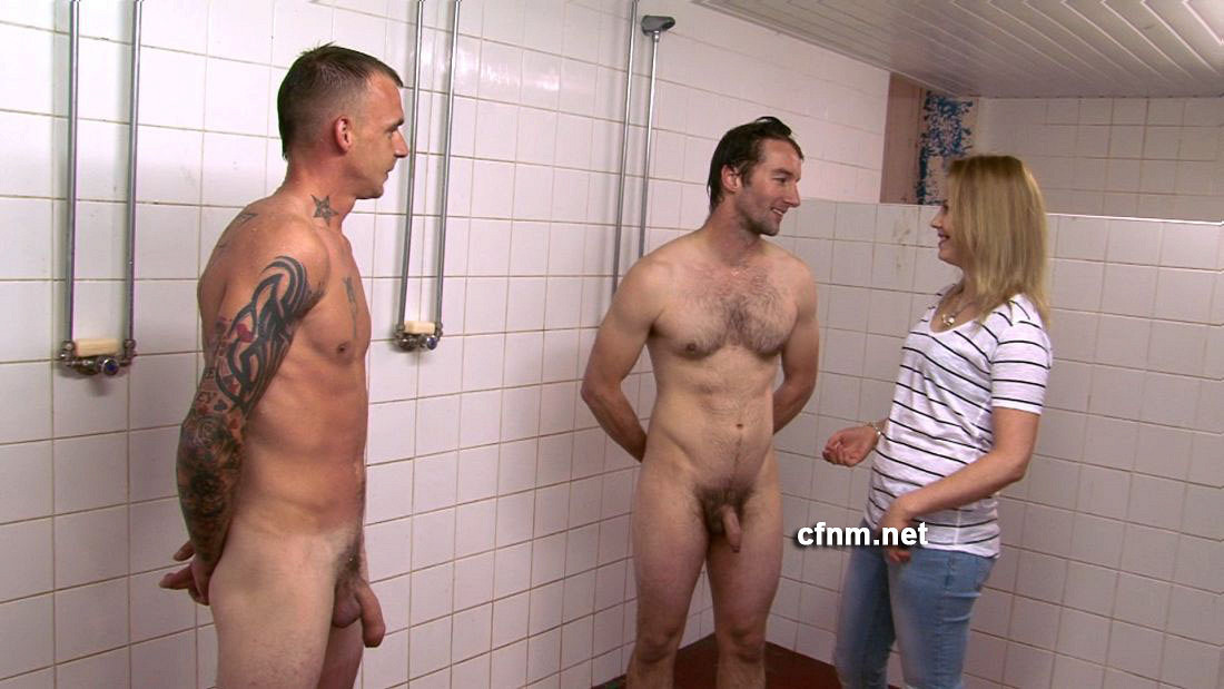 Ffm threesome in the shower