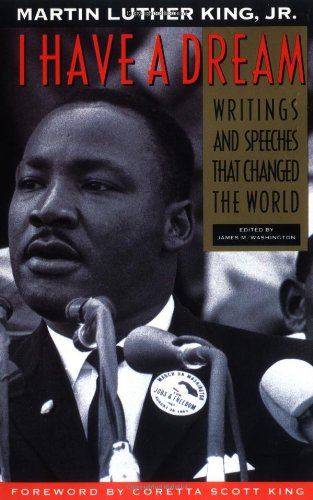 Martin luther king speech in writing