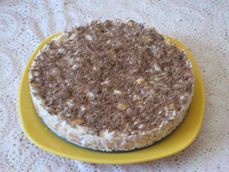 фото торта из крекера рыбки