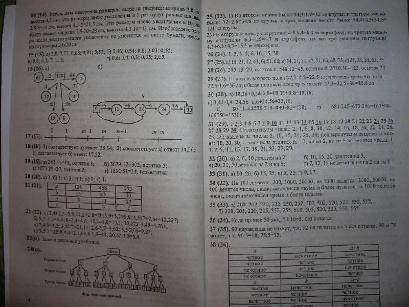 Ответы к гиа по математике 6 виленкин