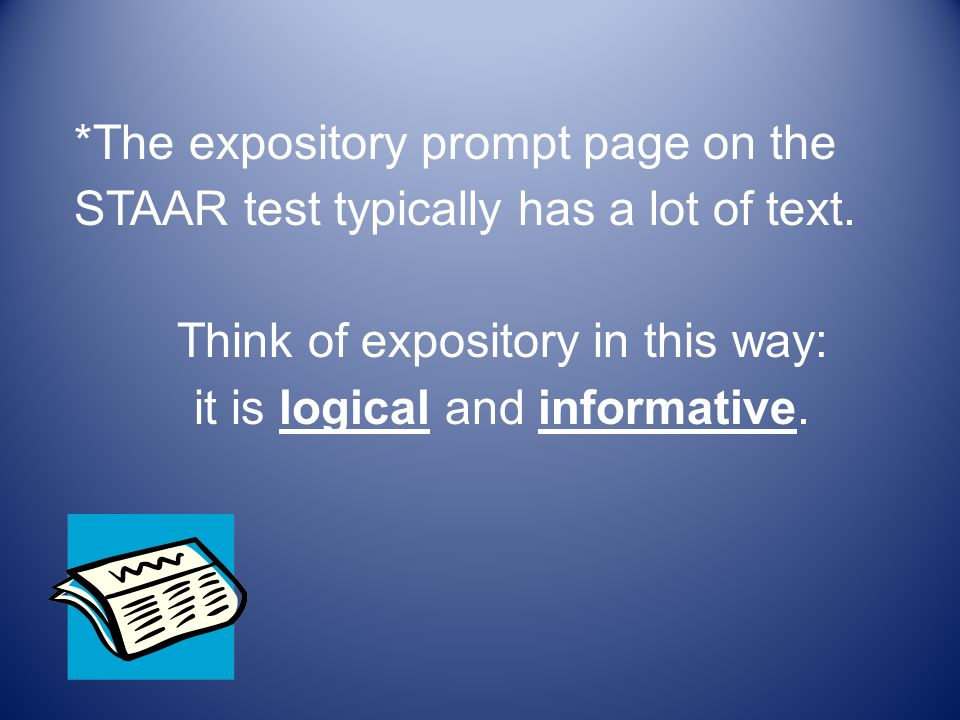 Expository Text Questions for Before During After